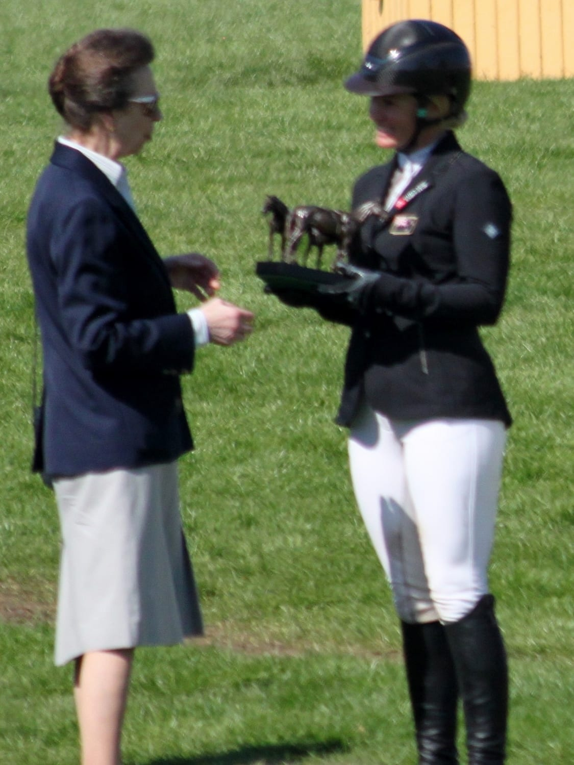 Jonelle Price The 2018 Winner With Princess Anne Snaffle