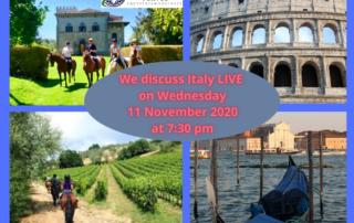 Combine Horses & Travel in Italy
